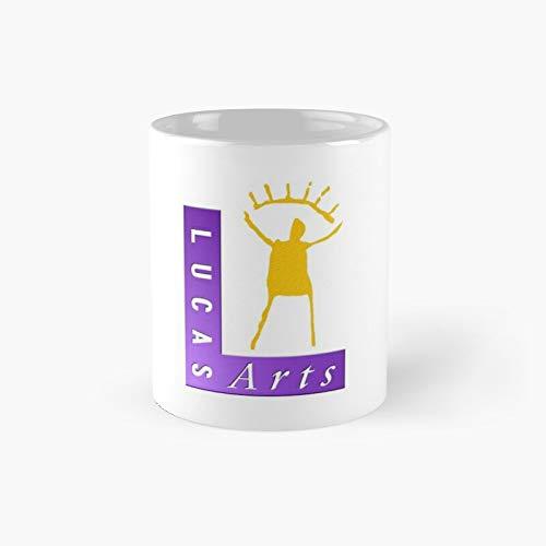 Lucasarts - Taza clásica con el logo de la mejor taza de café divertida de 325 ml