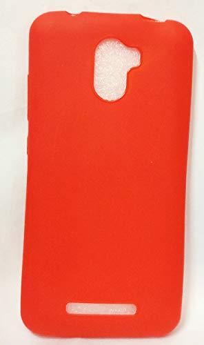 for Karbonn Titanium Jumbo Luxury Soft Silicon Premium Back Cover RED