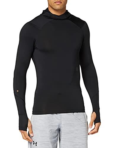 Under Armour Hommes hoodie de compression Scuba UA Rush, pull à capuche avec technologie Rush, haut à manches longues respirant pour homme