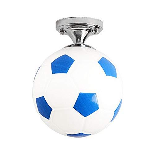 Kinder Balcon Sports Glas Kaffeekanne für Jungen LED-Beleuchtung Kinderzimmer Licht Shape Soccer