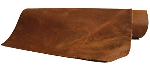 In vielen Größen: Beindruckendes Leder mit Pull Up Effekt, Blankleder, Dickleder, Fettleder, Nubukleder, ca. 2,0 mm dick! Rindleder, Vintage - Antikleder in einem! Mittelbraun, braun, tabak, cognac