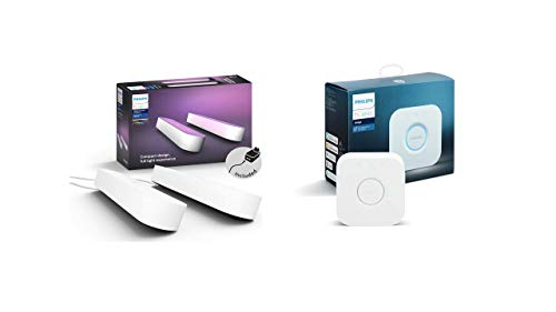 Philips Hue White & Color Ambiance Play X2 Blanc 6,6 W +...