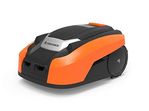 Yard Force Robot Tondeuse LUV600Ri avec App et Capteurs Ultr