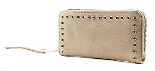 Marco O Polo Damenbörse, Zip Wallet L/Veg2, (BxHxT) 19,5 x 10 x 3 cm, Light Grey