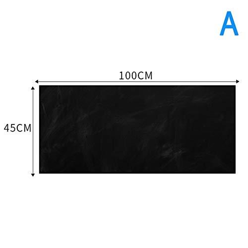 ERKDH White Board Peel Stick Paper for School Erase Whiteboard Sticker Wall Decal Autoadesivo, a