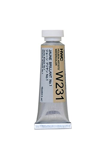 Holbein Artist's Watercolor 15ml Tube (Jaune Brillant No.1) W231
