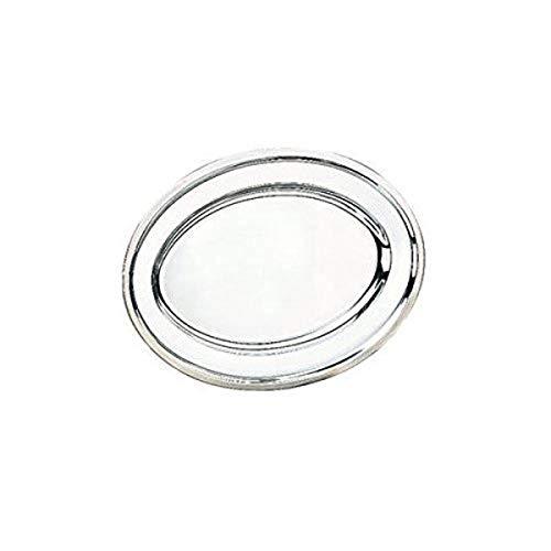 IBILI 710030 Plat Ovale, INOX, Argent, 30 cm