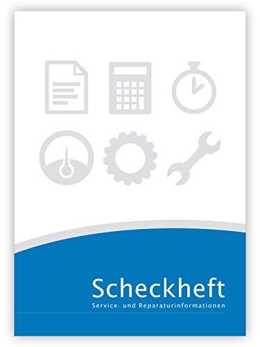 Universal Scheckheft - für VW/Volkswagen geeignet - Serviceheft & Wartungsheft - blanko
