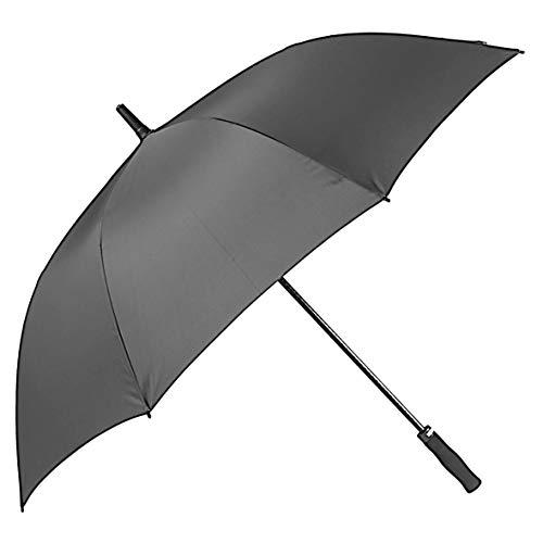 Ombrello da Pioggia BOLERO Lungo Golf Antivento, Apertura Automatica per Permetterne L'Uso con Una Sola Mano, Tessuto Pongee Unito, Ombrello Grande