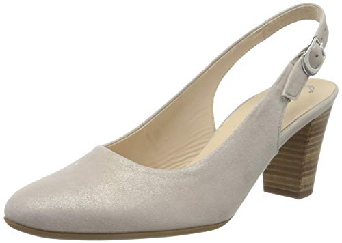 Gabor Shoes Damen Comfort Fashion Pumps, Beige (Muschel 14), 38.5 EU