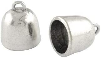 Wholesale Tibetan Zinc Today's only End Caps Antique Silver 10 Cup x 14 Oklahoma City Mall 16mm