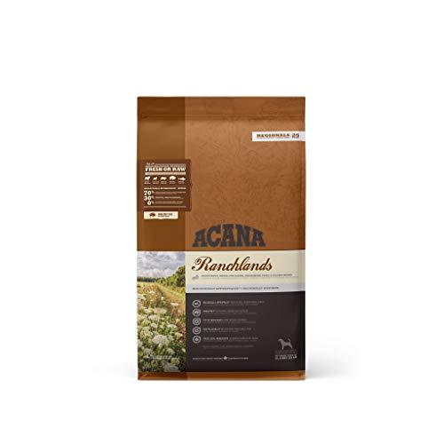 ACANA Regionalsdog Ranchlands kg. 11,4 Cibo Secco Senza Cereali per Cani