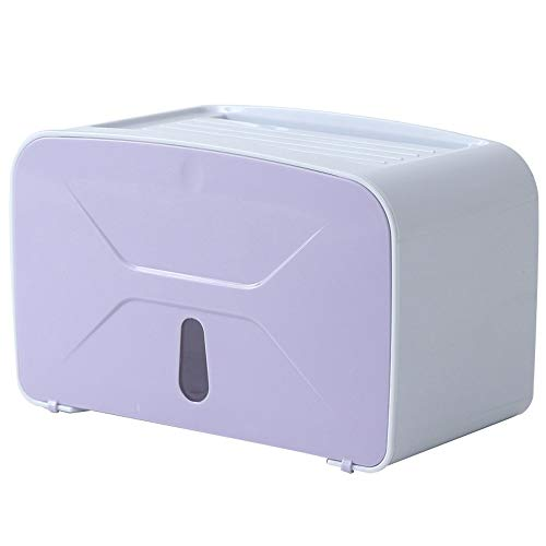 Tenedor de papel higiénico Impermeable Punch-Libre de inodoro Caja de papel higiénico Rollo de papel Rollo de papel Toalla de papel Toalla Toalla Toal Hige Tubo Tubo Tallo Pequeño Tamaño Función compl