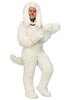 Shaggy Sheep Dog Costume for Kids Medium