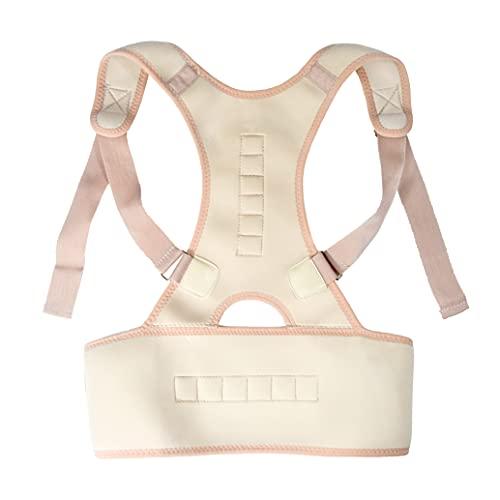 JOCCA 6249–Cinturon Correttore di posturas, colore: bianco