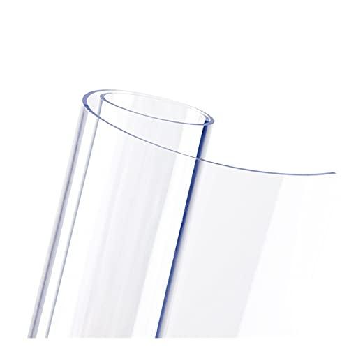 LSSB Claro/Transparente PVC Alfombrilla para Silla Plástico Manteles A Prueba De Agua Resistente A Los Arañazos Protector Mesa para Decoración del Hogar Oficina