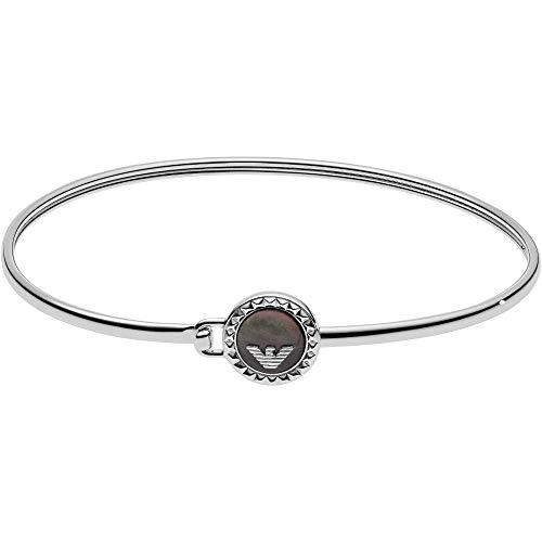 Emporio Armani Damen-Manschetten Armbänder 925 Sterlingsilber Perlmutt EG3349040