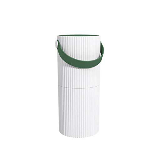 Intelligent luchtsterilisator, aanraking huishouden luchtreiniger, kantoor rook en stof, een hoog rendement luchtfilter, negatieve ionen snel zuiveraar (Color : Dark green)