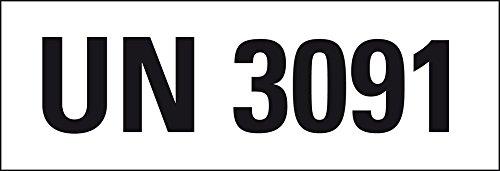 LEMAX® Gefahrgutaufkleber UN-Nummer 3481 Lithium-Ionen-Batterien,147x50mm,250/Rolle
