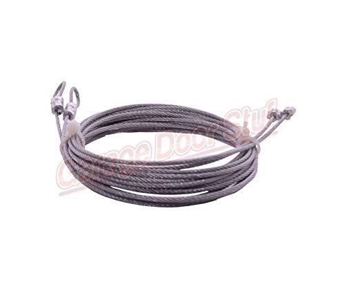 Sale!! Garage Door Lift Cable 3/32 (for 7)