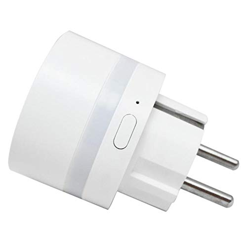 La aplicación de enchufe de la UE WiFi Socket inteligente Monitor de extensión Outlet App Control remoto funciona for Alexa/for Google Home iFTTT