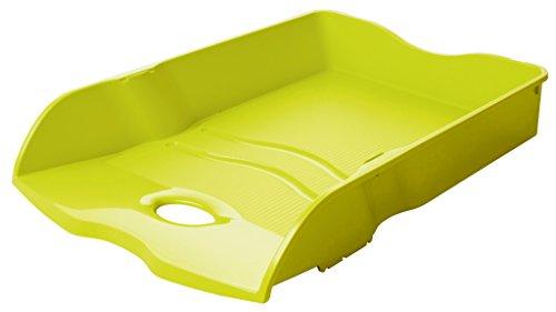 HAN Briefablage HAN LOOP, DIN A4/C4, stapelbar, nestbar, stabil, Trend Colour lemon
