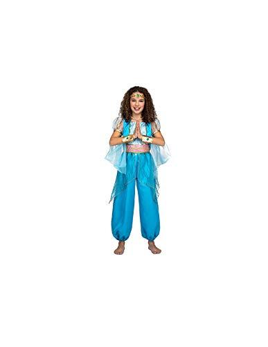 DISBACANAL Disfraz Princesa Jasmn Infantil - -, 5-6 aos