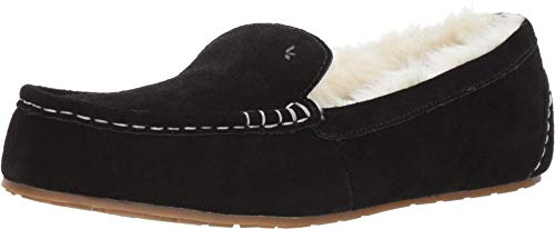 Koolaburra by UGG Women's Lezly Slipper, Black, 39 EU