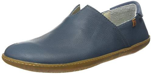 El Naturalista Unisex-Erwachsene N275 Soft Grain EL Viajero Slip On Sneaker, Blau (Vaquero Vaquero), 44 EU