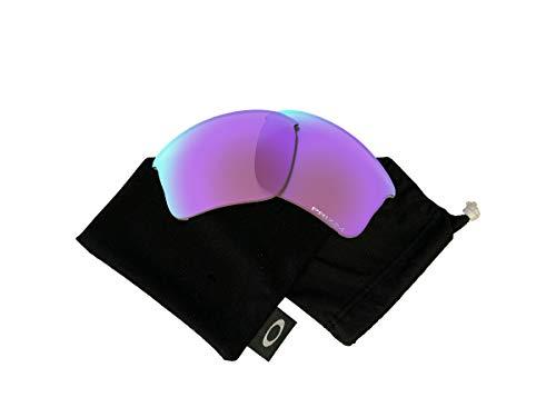 Oakley Original Flak Jacket XLJ OO9009 PRIZM Golf Replacement Lenses For Men For Women+BUNDLE with Oakley Microfiber Cloth Bag