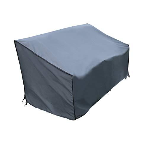 SORARA Housse de Protection Hydrofuge pour Canapé | Gris | 241 x 86 x 90/61 cm
