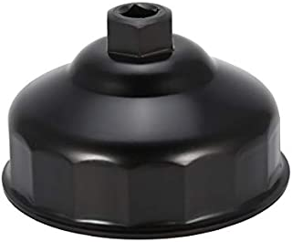 76mm x 14 Fl/öten /Ölfilter Schraubenschl/üssel Cap Socket Drive Remover Tool f/ür Audi BMW VW