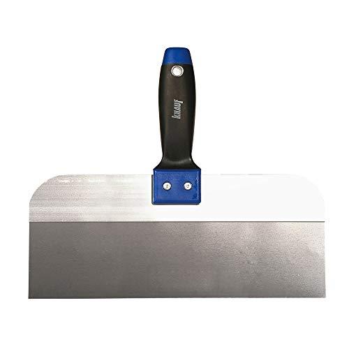 Knauf Breit-Spachtel zum Verspachteln von Fugen, 300-mm – Fugen-Spachtel breit aus Edelstahl für großflächige Spachtelarbeiten an Gipsplatten-Fugen, für HRK und HRAK Kanten, rostfrei