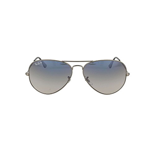 Ray Ban RB3025 W3277 AVIATOR 58mm Sunglasses New - Size: 58--14--135 - Color: Crystal Gunmetal