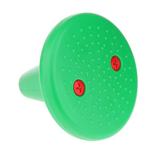Runder Einbein T-Hocker Balancerspiele Balance Spiel - Grün