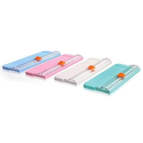 Ashley GAO Tamaño portátil ABS escuela oficina papel foto cortador recortadoras scrapbook recortadora estera corte máquina herramienta