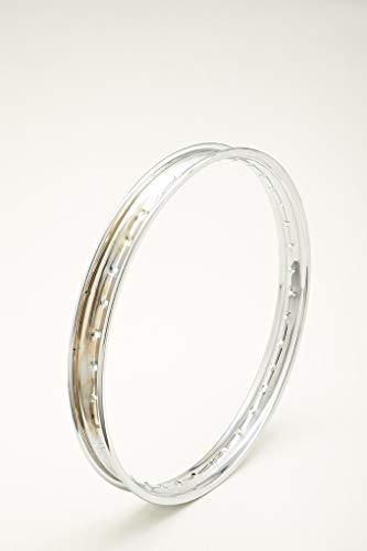 Llanta de acero cromado cromado cromado Steel Wheel Rim ItalLlanta 1,50 x 20 36 agujeros