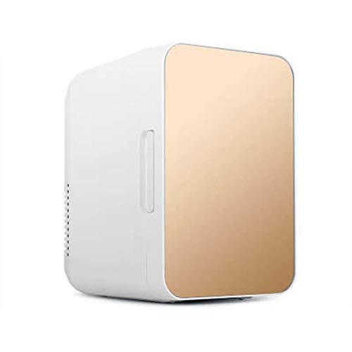 KongLyle Mini Nevera, Refrigerador Compacto de 8L Mini Congelador Más Frío y Caliente para Automóviles Hogares Oficinas Dormitorios