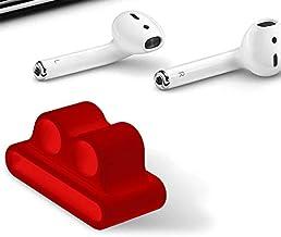 Amial Europe -- klips do słuchawek, kompatybilny z Apple AirPods Watch iWatch [seria 1/2/3] [uchwyt na słuchawki] [ekstra ...