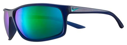 Nike Sun Adrenaline M Occhiali, Blu, 66 mm Uomo