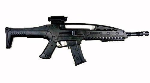 Nerd Clear Softair Future Softair-Gewehr Sturmgewehr schwarz inkl. Munition 0,08 Joule ab 3 Jahre
