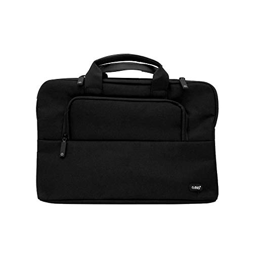 ANG Waterproof Laptop Shoulder Bag, 15.4-inch Multifunctional Case for Men and Women, Slim Computer Carry Case with Strap and Handle, Compatible with MacBook Pro 15.4', 15 15.4', 15.6' Dell Lenovo