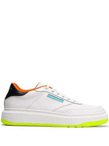 Paul Smith Luxury Fashion Herren M1SHAC10APCLF01 Weiss Leder Sneakers | Frühling Sommer 20