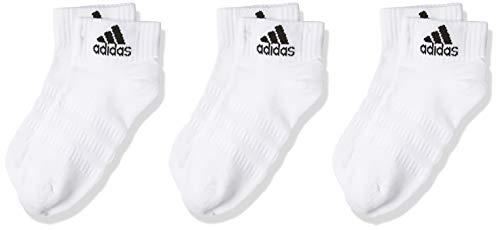 adidas Herren T19 CUSH ANK 3PP Socken, weiß, 43-45