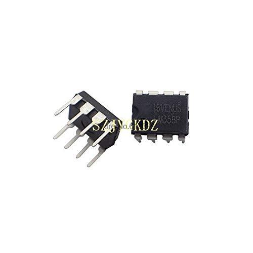 10PCS Ic Lm358n Precio Lm358p Amplificador operacional Dual Gp16v 32v 8-pin Pdip Lm358