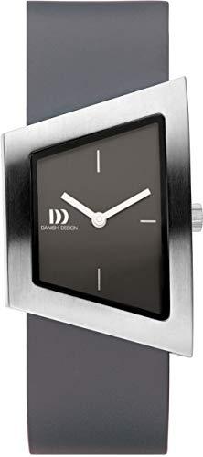 Danish Design Damen Analog Quarz Uhr mit Leder Armband IV14Q1207