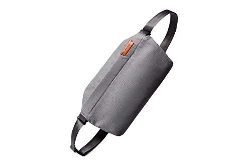 Bellroy Sling Bag, Bandolera compacta Unisex, Materiales Resistentes al Agua - Mid Grey