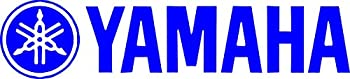 2 Racing Decal Sticker FOR Yamaha  New  White Size 8  x1.75