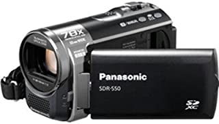 Panasonic SDR-S50K Std-Def SD Camcorder with 78X Zoom & Wide angle Lens (Black) (Discontinued by Manufacturer)