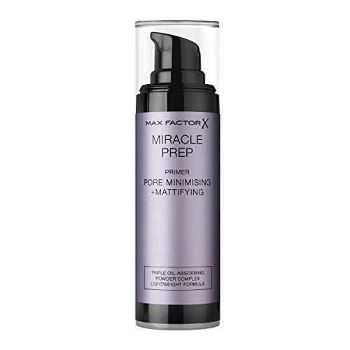 Max Factor Miracle Prep, Primer matificante y minimizador de poros - 30 ml